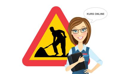 Arbete på väg – online
